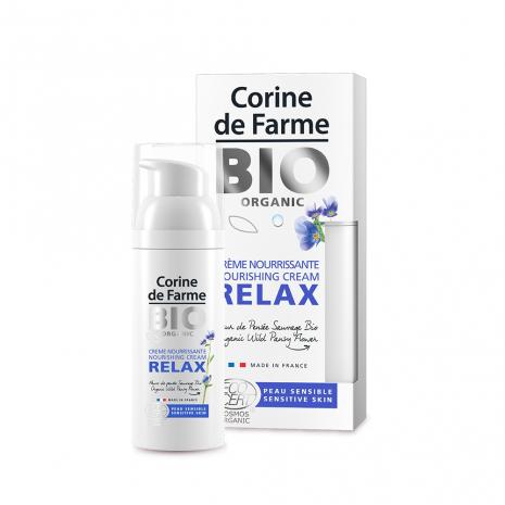Crème nourrissante RELAX BIO Corine de Farme